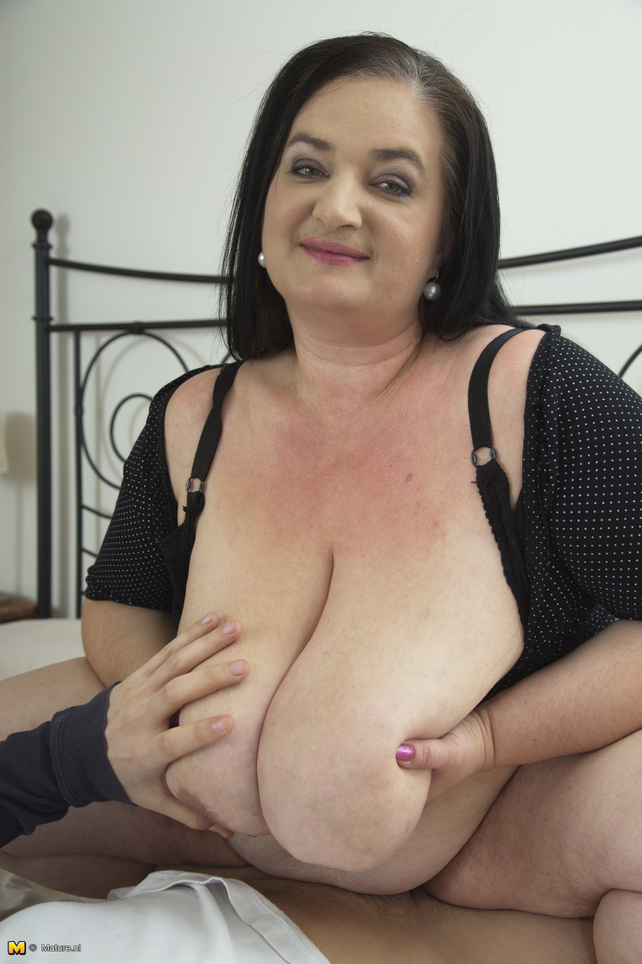big breasted mature bbw getting it pov style - big boobs gallery