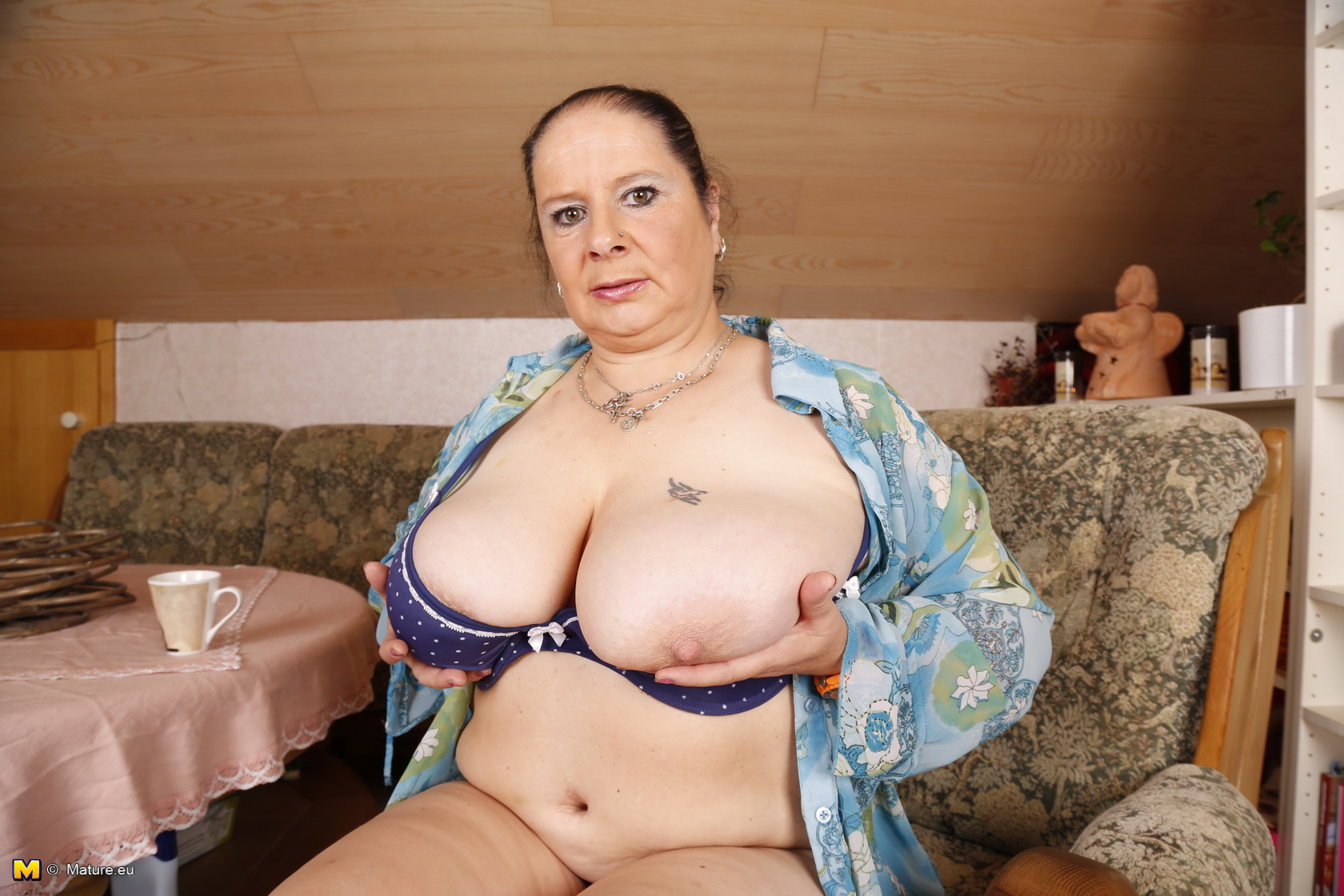 Chubby Striptease Big Tits