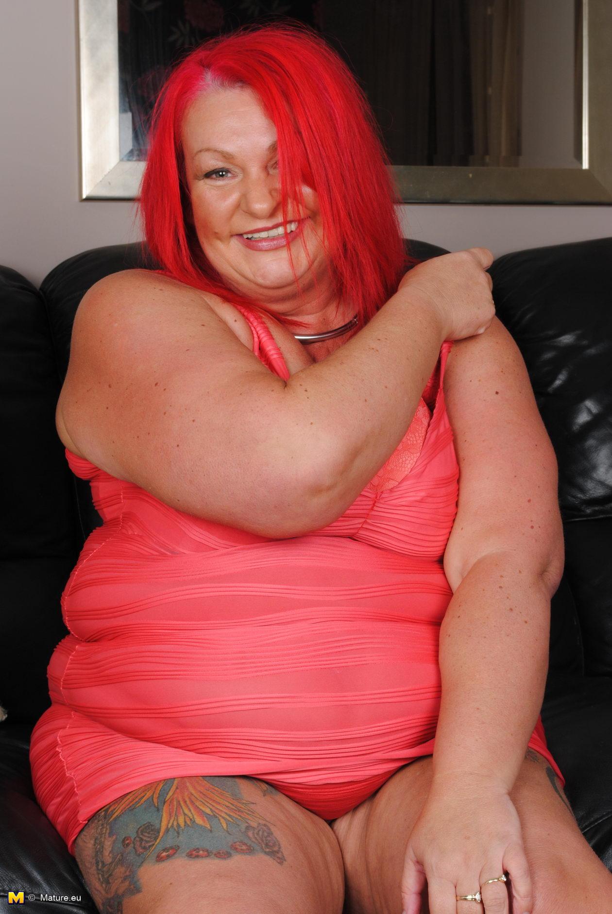 British Mature Big Tits Solo