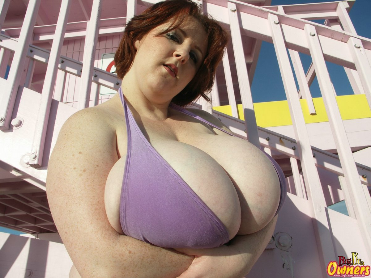 Big Tits In Tight Bikini
